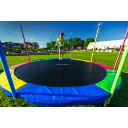 Батут Just Fun 12FT Multicolor - 374см